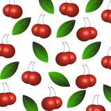 Cherry background/ Texture Royalty Free Stock Images