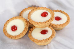 Cherry Bakewells Royalty Free Stock Images