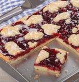 Cherry Bar Dessert fotos de stock