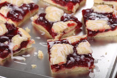 Cherry Bars Closeup Stock Images