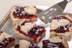 Cherry Bars Royalty Free Stock Image
