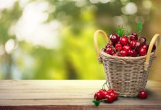 Cherry, Basket, Fruit Royalty Free Stock Image