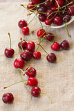 Cherry Berries Imagen de archivo libre de regalías