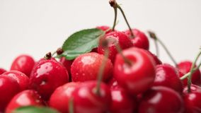 Cherry berries Royalty Free Stock Images