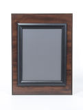 Cherry and Black Picture Frame Royalty Free Stock Images