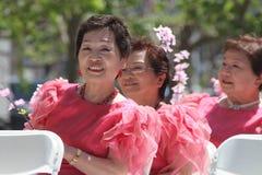 Cherry Blossom Festival - Grote Parade San Francisco Stock Foto