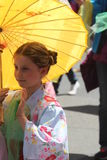 Cherry Blossom Festival - Grote Parade San Francisco Stock Afbeeldingen