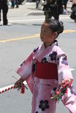 Cherry Blossom Festival - Grote Parade San Francisco Stock Afbeeldingen