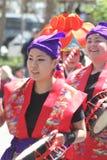 Cherry Blossom Festival - Grote Parade San Francisco Stock Foto's