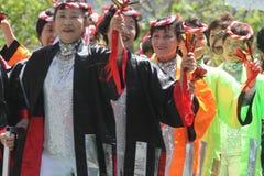 Cherry Blossom Festival - Grote Parade San Francisco Royalty-vrije Stock Afbeeldingen