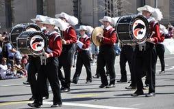 Cherry Blossom Festival Parade Stock Foto