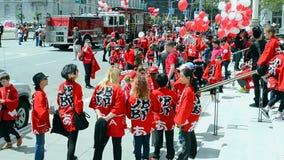 Cherry Blossom Festival 2015, San Francisco, USA, stock video footage