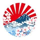 Cherry blossom illustration vector illustration