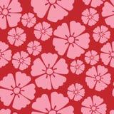 Cherry blossom sakura seamless pattern background Royalty Free Stock Image