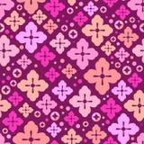 Cherry blossom seamless pattern. Japanese sakura cute background. Decorative elements. Vector illustration Stock Image