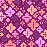 Cherry blossom seamless pattern. Japanese sakura cute background. Decorative elements. Vector illustration Royalty Free Stock Photography