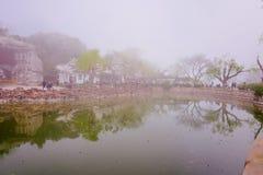 Cherry Blossom valley,wuxi,china. Wuxi Taihu Yuantouzhu Park Cherry Blossom valley royalty free stock photo