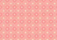 Cherry Blossoms o Sakura Pattern en color en colores pastel Foto de archivo