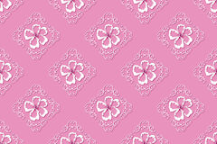 Cherry blossoms pink pattern / background Stock Image