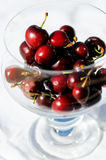 Cherry bowl Stock Images