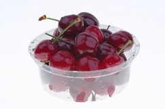 Cherry box Stock Photography