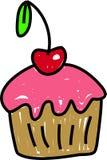 cherry bun Zdjęcie Stock