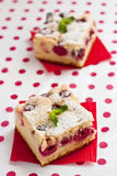 Cherry cake Royalty Free Stock Photos