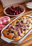 Cherry cake Royalty Free Stock Image