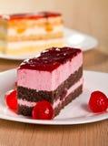 Cherry cake Royalty Free Stock Photos