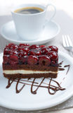 Cherry cake Royalty Free Stock Images