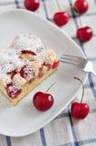 Cherry Cake Fotografía de archivo
