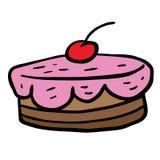 Cherry cake Stock Photos