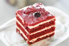Cherry cake ,cherry cheese cake. Cake, cherry cake or cherry cheese cake stock image