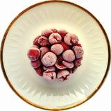 Cherry Cake congelado Imágenes de archivo libres de regalías