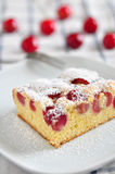 Cherry cake Royalty Free Stock Photography