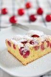 Cherry cake Royalty Free Stock Photography