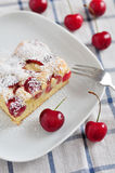 Cherry Cake Stock Photography