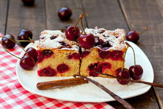 Cherry cake Royalty Free Stock Photo