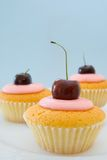 Cherry Cakes Royalty Free Stock Images