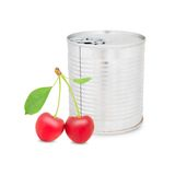 Cherry can Stock Photography