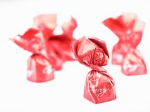 Cherry candy Royalty Free Stock Image
