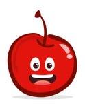 Cherry cartoon character Stock Photography
