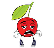 Cherry cartoon character Stock Photos