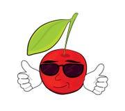 Cherry cartoon character Stock Photo