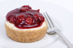 Cherry cheescake Royalty Free Stock Photography
