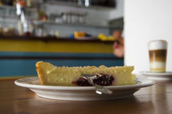 Cherry Cheese Cake Photo libre de droits
