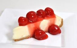 Cherry Cheesecake stock photos