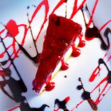 Cherry cheesecake Royalty Free Stock Photos