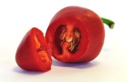 Cherry chili pepper royalty free stock photo