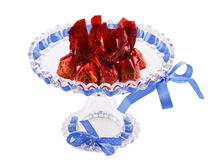 Cherry chocolate Stock Photo